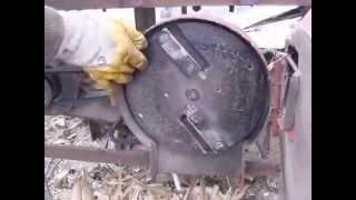 Дробилка - измельчитель веток