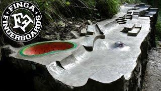 getlinkyoutube.com-Finga fingerboards Outdoor Spot 2014