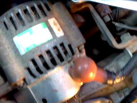 Подтяжка ремня генератора Mitsubishi Town Box Wide