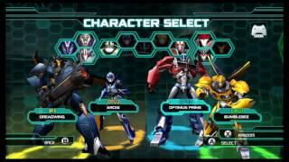 getlinkyoutube.com-Transformers Prime The Game Wii U Multiplayer Brawl part 2