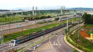 getlinkyoutube.com-공항철도 KTX 시운전 / trial run of the A'REX airport railway KTX