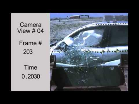 Краш тест Audi Q5 2009 (Side Impact NHTSA)
