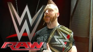 getlinkyoutube.com-Sheamus' sideplates are installed on the WWE World Heavyweight Championship: Nov. 30, 2015