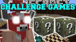 getlinkyoutube.com-Minecraft: MINOSHROOM CHALLENGE GAMES - Lucky Block Mod - Modded Mini-Game