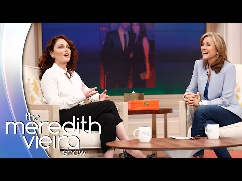 Robin Tunney's Vomit-Laced Proposal! | The Meredith Vieira Show