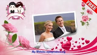 getlinkyoutube.com-Free download Project Proshow Producer Wedding Part 30 - Page Curl Styles
