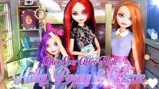 getlinkyoutube.com-DIY - Custom Doll: After Ever After High Holly, Poppy & Lizzie - Handmade - Doll - Crafts