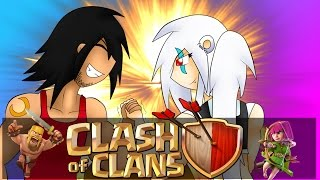 getlinkyoutube.com-Clash Of Clans | BROTHER vs SISTER!