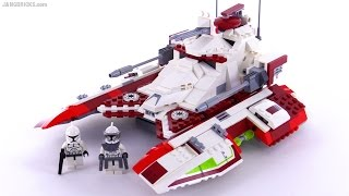 getlinkyoutube.com-LEGO Star Wars Republic Fighter Tank from 2008! set 7679