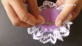 getlinkyoutube.com-How to make Unique Brooch | Presented by Gontor for Girls 1 | Tutorial membuat bros unik