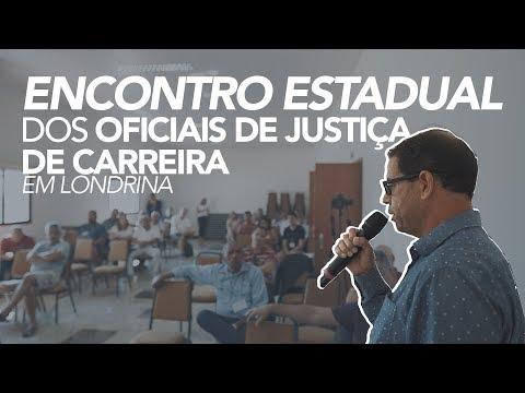 Encontro dos Oficiais de Justiça de Carreira de Londrina e região