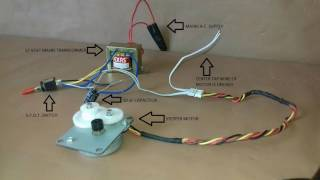 HACKED: Unipolar stepper motor without driver