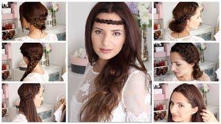 getlinkyoutube.com-7 Peinados Para cada día  |  Fáciles y Rápidos | Boho Chic