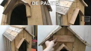 ¿Como hacer una casa para perro? DIY |Reciclando Pallets.