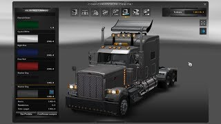 getlinkyoutube.com-Pack de Camiones Americanos para Euro Truck Simulator 2 + Review | Peterbilt | Kenworth