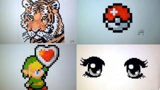 getlinkyoutube.com-Fun Compilation of 10 pixel Art !