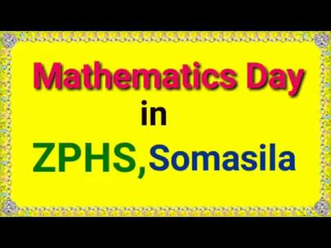 Download Thumbnail For Mathematics Day In Somasila 22 12 2018 Youtube