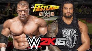 Triple H vs  Roman Reigns: WWE Championship Match