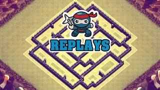 "getlinkyoutube.com-Clash of Clans | Town Hall 8 (TH8) Clan War Base ""REPLAYS"""