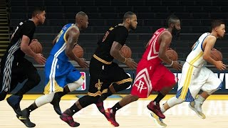getlinkyoutube.com-NBA 2K17 Speed Test - All Positions (PG/SG/SF/PF/C) Fastest Players In NBA 2K17