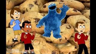 getlinkyoutube.com-A Nightmare on Sesame Street - Krueger kills Cookie!