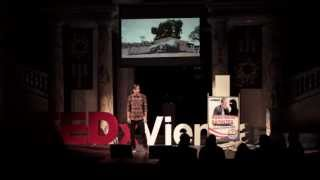 Paint the change you want to see: Nicholas Platzer at TEDxVienna
