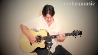 getlinkyoutube.com-Paul Reed Smith Angelus Cutaway Acoustic Demo by Make'n Music