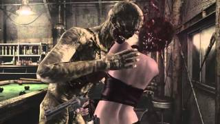 getlinkyoutube.com-Biohazard 0 HD Rebecca Cuir ryona