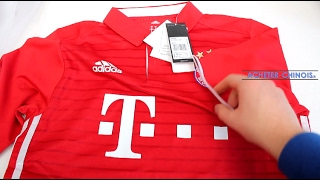 getlinkyoutube.com-[CONCOURS] Maillot du Bayern Munich (Aliexpress) - Unboxing & Review