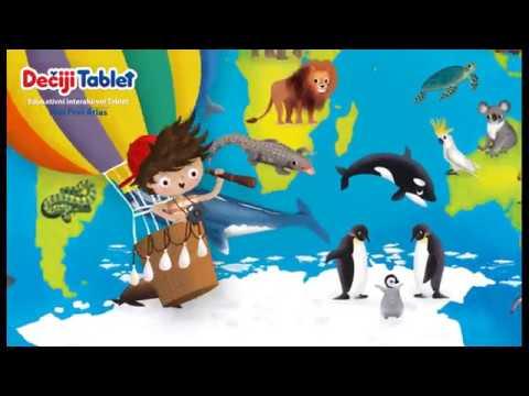 Dečiji tablet MOJ PRVI ATLAS video