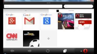 getlinkyoutube.com-Como descargar Opera Mini Handler para PC