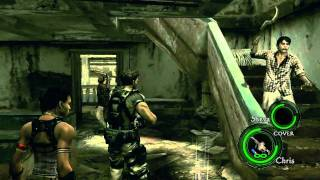 getlinkyoutube.com-Resident Evil 5 PC Mod - Chris Learns 2 Moves from Majini + Chris's Epic Death