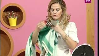 فاي سابا تتحدث عن استخدام الشالات بالازياء | Roya