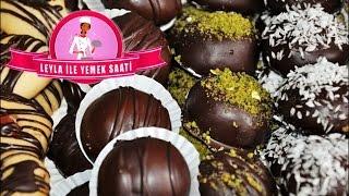 getlinkyoutube.com-Lokumlu Çikolatalı Kurabiye  Tarifi - Leyla ile Yemek Saati