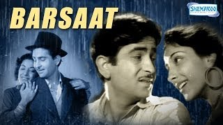 getlinkyoutube.com-Barsaat (1949) - Raj Kapoor, Nargis and Premnath - Bollywood Classic Movie - Full Length HQ