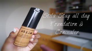 getlinkyoutube.com-Stila Stay all day Foundation & Concealer:First Impression
