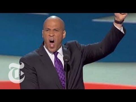 Cory Booker's DNC Speech - Elections 2012