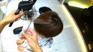 getlinkyoutube.com-【warphair 森泉】15分で女子刈り上げショートスタイル