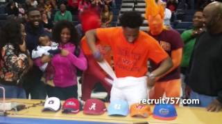 Devon Hunter commits to Virginia Tech