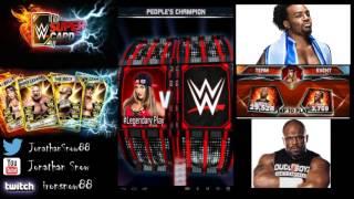 getlinkyoutube.com-WWE Supercard Season 2 #7 REWARDS Kotr/Pcc/PACKS/Team Pcc