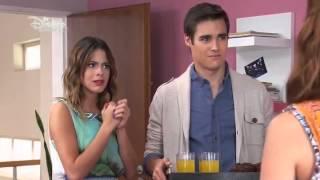 getlinkyoutube.com-Violetta 2 - Francesca und Camila verstecken Diego vor Violetta und Leon (Folge 16) Deutsch