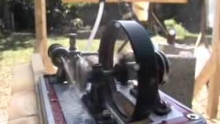 getlinkyoutube.com-Fresnel Lens + STEAM ENGINE 3 GREENPOWERSCIENCE Steam boiler solar scorcher