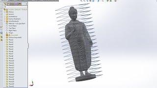 getlinkyoutube.com-Solidworks to ArtCam Make Layers Big Buddha Cadcam