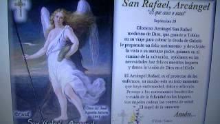ORACION A SAN RAFAEL ARCA'NGEL