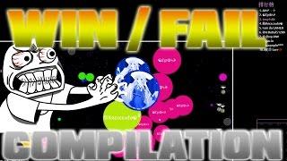 getlinkyoutube.com-Agar.io - 3k SUBS SPECIAL - WIN/FAIL COMPILATION - 69 Doublesplits & Splitpops!!