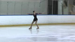 getlinkyoutube.com-My Sister's 1st Place Ice Skating Routine