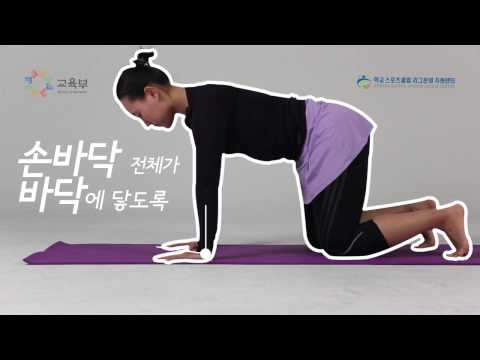 산자세(Downward  Dog)