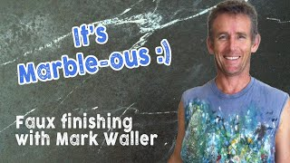 getlinkyoutube.com-Faux Painting - Marbling | Over The Shoulder with Mark Waller