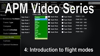 getlinkyoutube.com-(4/8) APM 2.5/2.6/3.1 - Introduction to flight modes (stabilize, loiter, RTL etc)