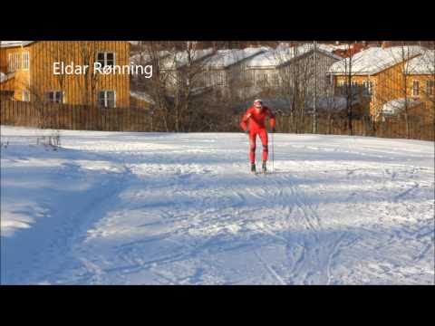 Second X-country skiing imitations w/Therese Johaug and Anders Sdergren